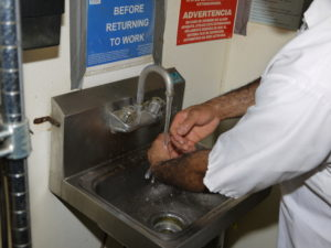 Hand Washing by Food Handlers Prevents Food Borne Illness
